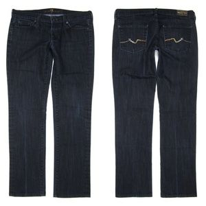 7 for all Mankind 30 Straight Leg Bling Jeans